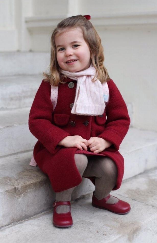 Princezná Charlotte má za