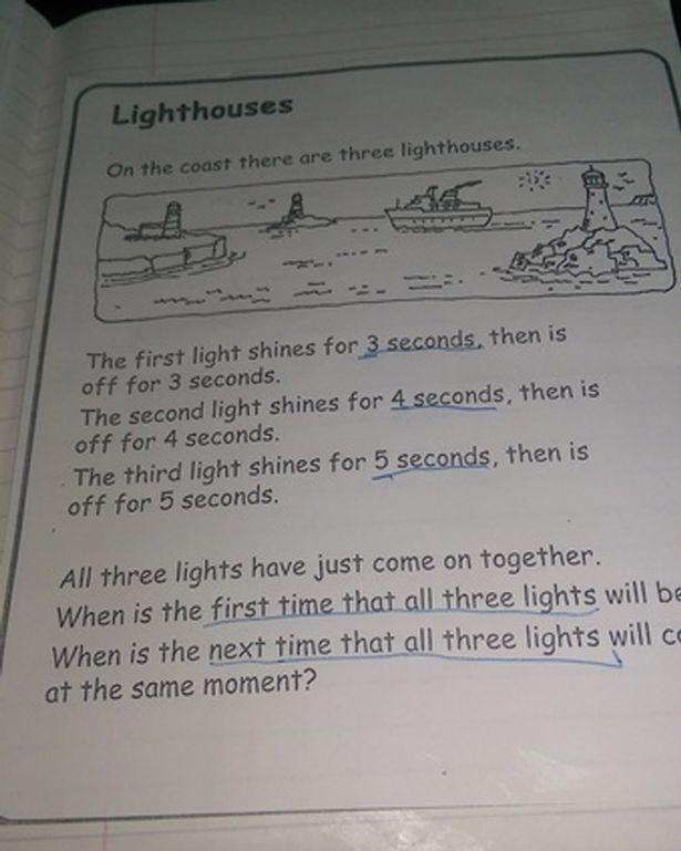Domáca úloha z matematiky: