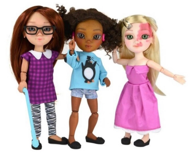 Barbie ako zo salónu?