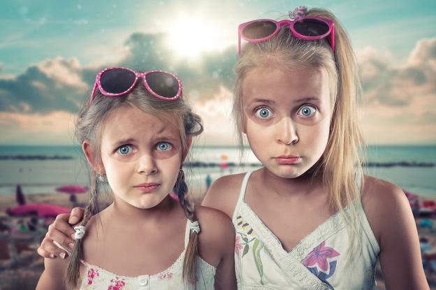 Tieto fotky detí sú