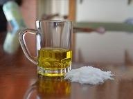 Soľ a olivový olej