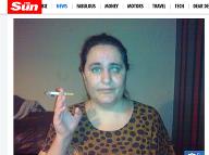 Karen doslova cigarety miluje!