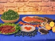 Potraviny s obsahom cholínu.