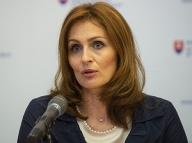 Ministerka zdravotníctva SR Andrea