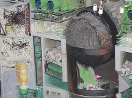 Poškodený reaktor po nehode