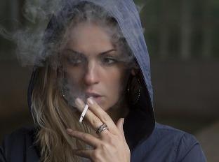 skryté fajčenie