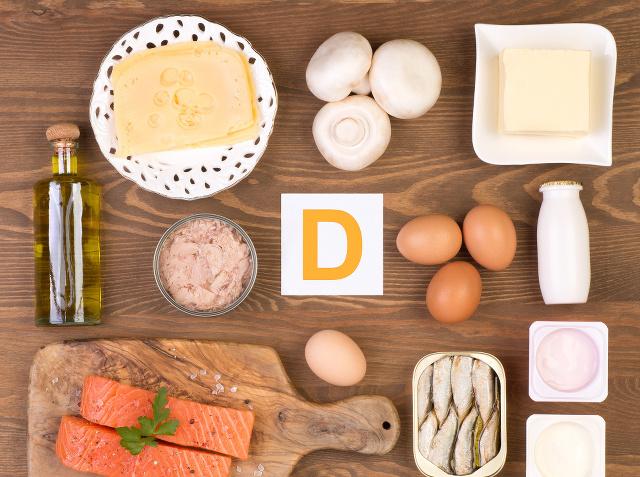 Vitamín D nájdete vo
