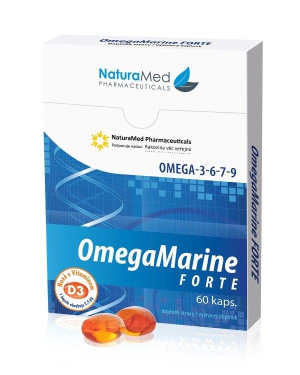 Každé balenie OmegaMarine Forte+