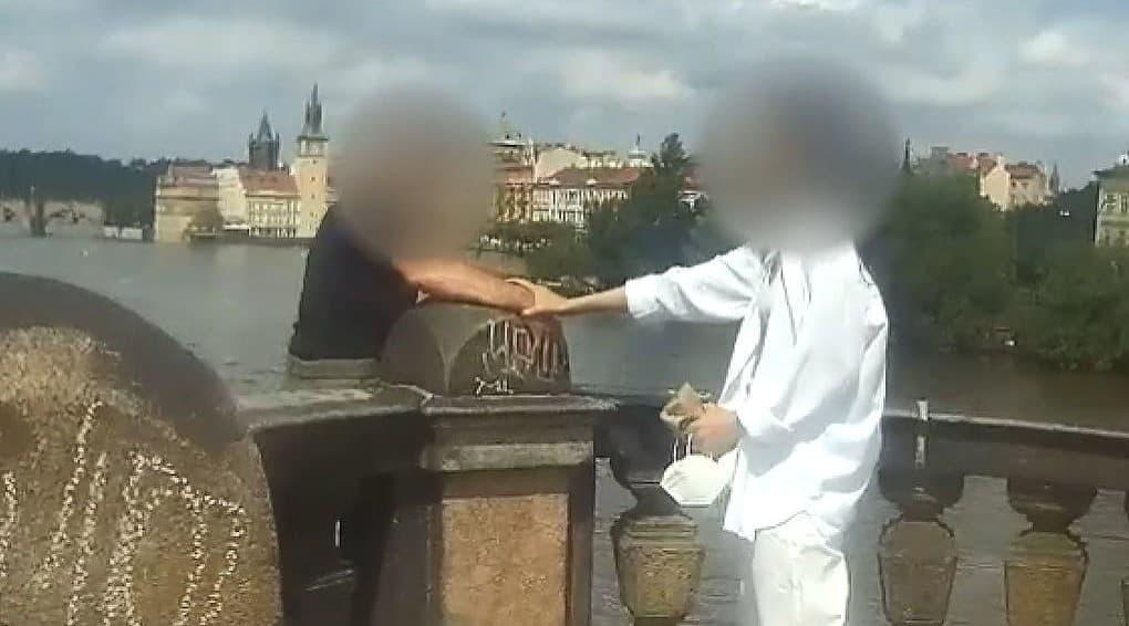 Dráma v centre Prahy: