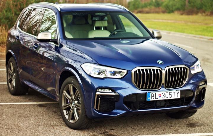 VIDEOTEST: BMW X5 M50d