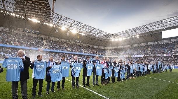 Otvorenie štadiónu ŠK Slovan