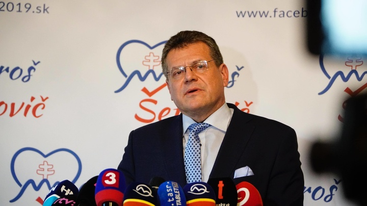 Maroš Šefčovič reaguje na