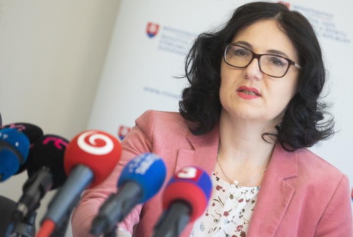 Ministerka Martina Lubyová