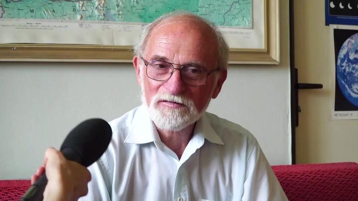 Klimatológ Milan Lapin