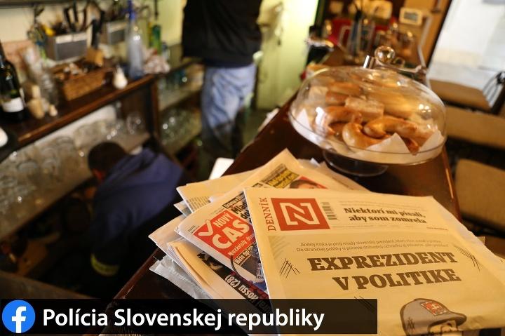 Policajti prehľadávali aj bratislavský
