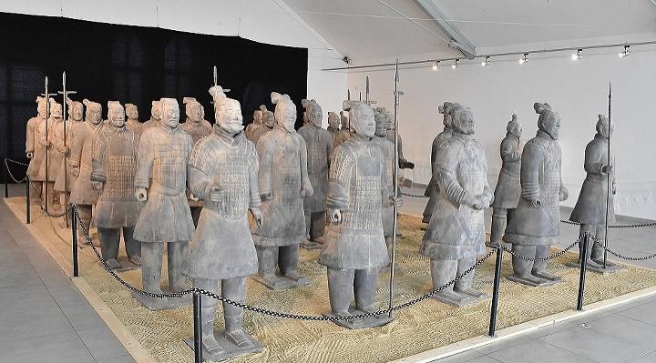 Výstava Terakotová armáda -