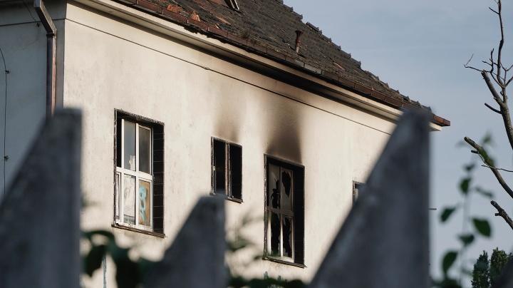 Požiar v Bratislave: Oheň