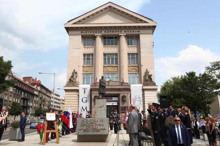 Otváranie námestia Tomáša Garrigua