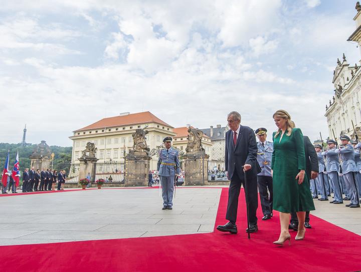 Prezidentku SR Z. Čaputovú