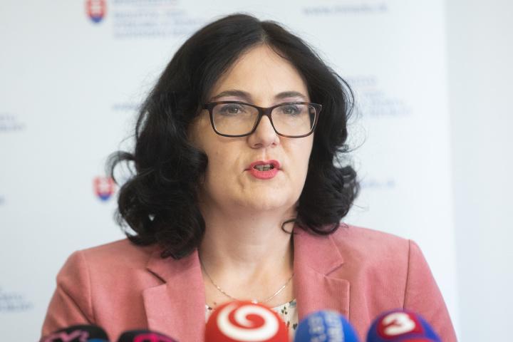 Ministerka školstva Martina Lubyová