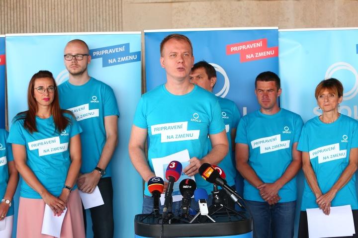 Strana SPOLU predstavila základné