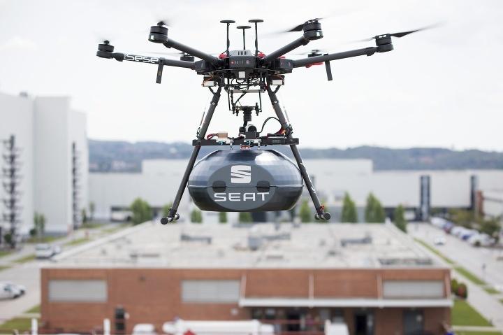 SEAT drony