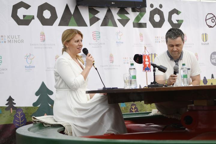 Zuzana Čaputová navštívila Gombasecký
