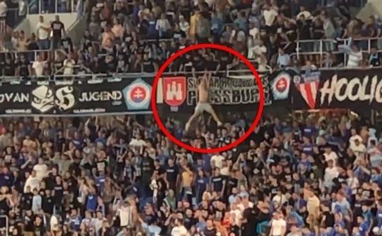 Fanúšik Slovana preskočil hranu