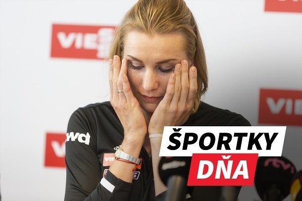 Športky dňa: Kuzminová ukončila