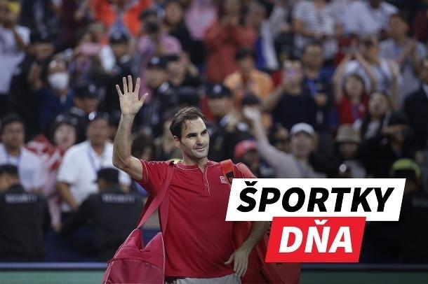 Športky dňa: Federer potešil
