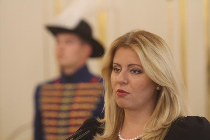 Zuzana Čaputová poskytla vyhlásenie