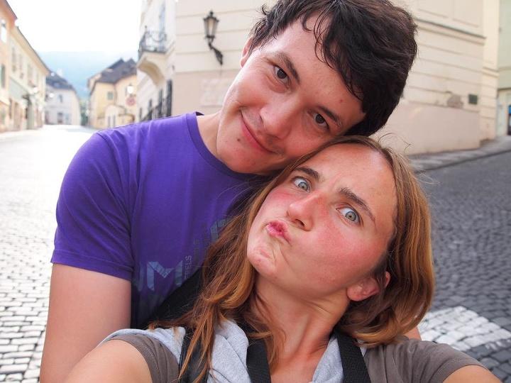 Martina Kušnírová a Ján