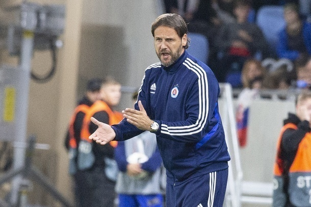 Tréner Slovana Bratislava sklamaný: