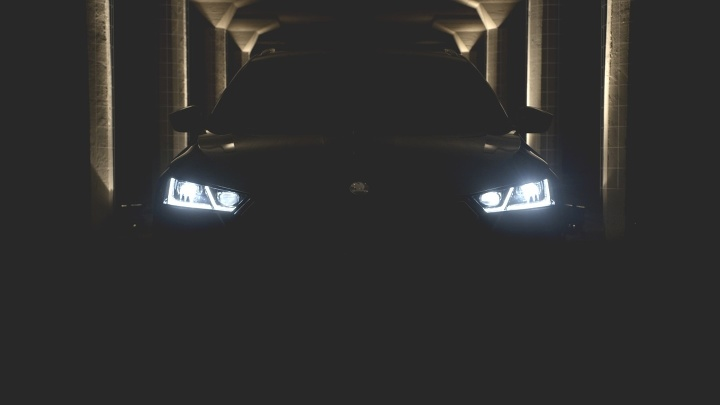 Škoda Octavia teaser
