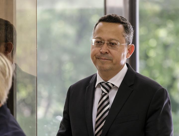 Minister financií Ladislav Kamenický