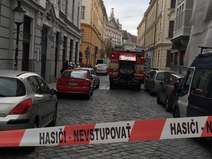 V Bratislave horela budova