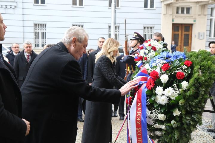 Miloš Zeman a Zuzana