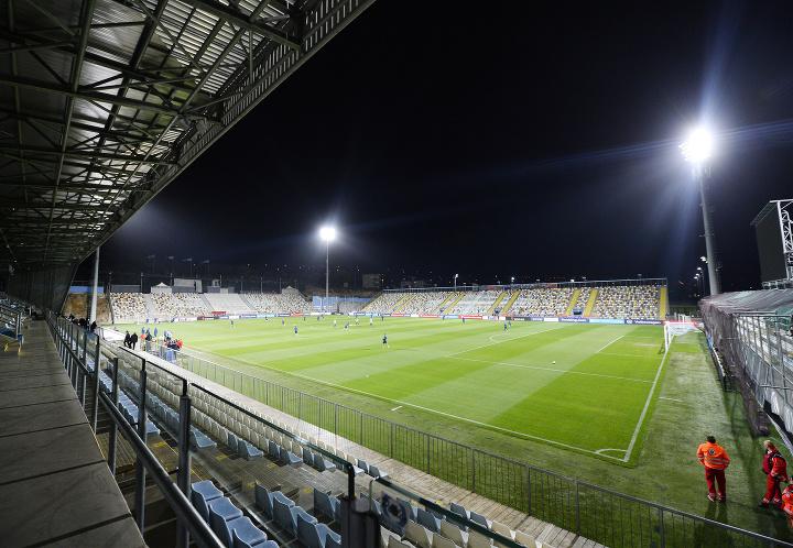Atmosféra počas zápasu Chorvátsko