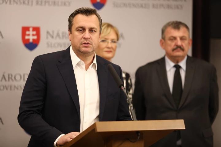SNS schválilo kandidátku, Danko