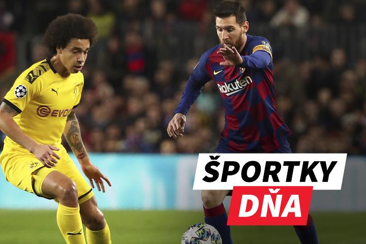 ŠPORTKY DŇA! Messi znova