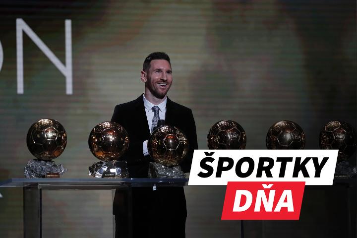 ŠPORTKY DŇA! Messi sa