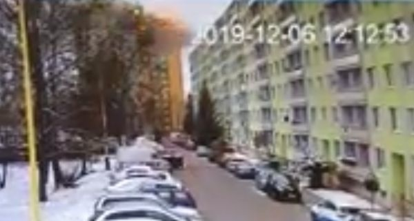 Video, ktoré zachytáva výbuch