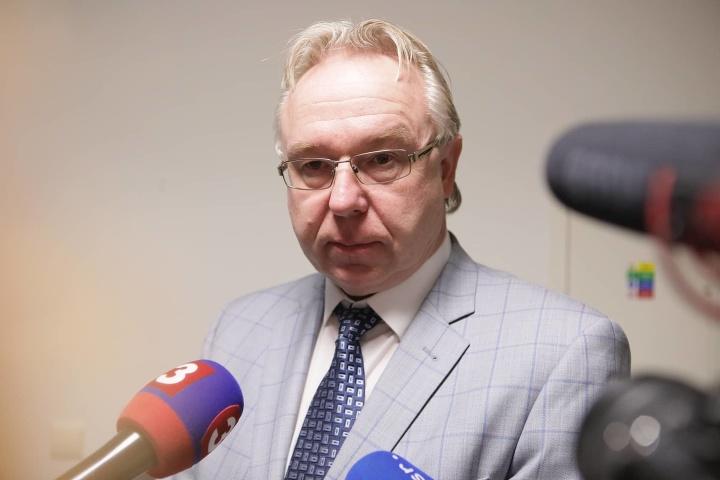 Prokurátor Ján Šanta počas