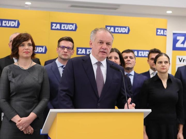 Andrej Kiska predstavil program