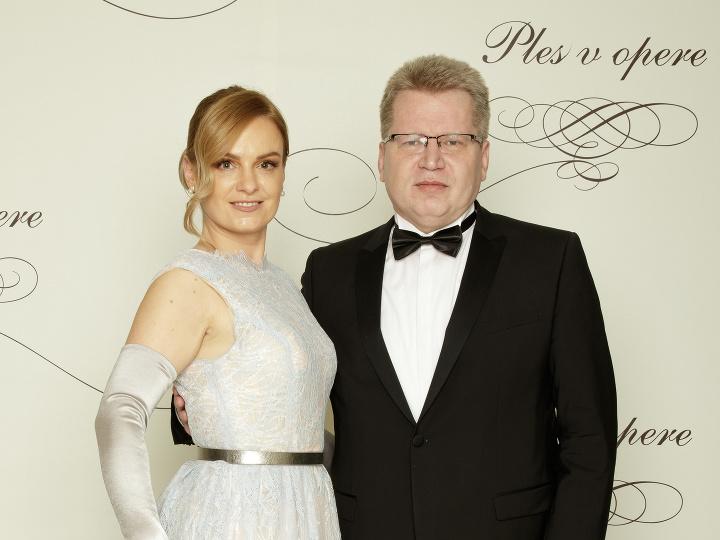 Juraj Čurný s manželkou