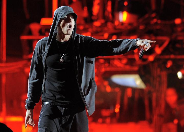 Eminem na koncerte