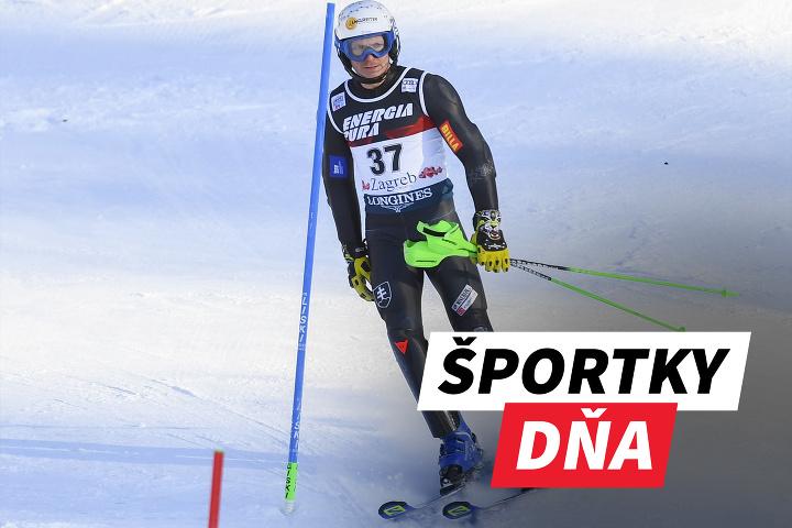 ŠPORTKY DŇA! Slovenská lyžiarska