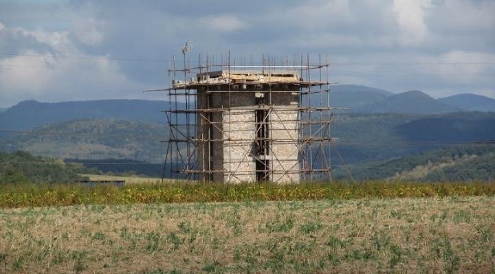 kamenná rozhľadňa Čerešenka pri