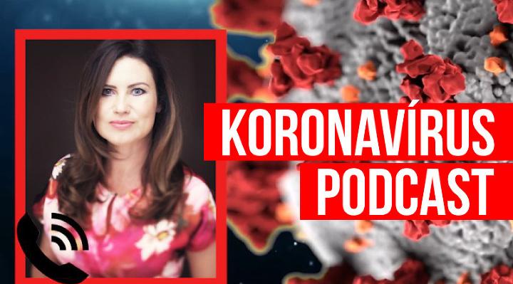 PODCAST KORONAVÍRUS Andrea Vadkerti