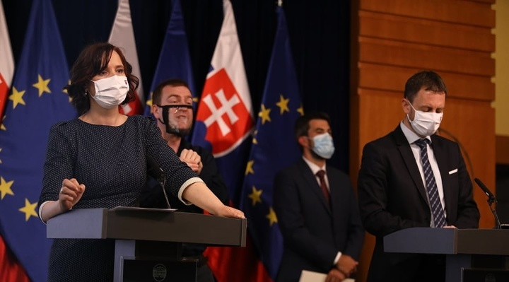 Vicepremiérka Veronika Remišová a